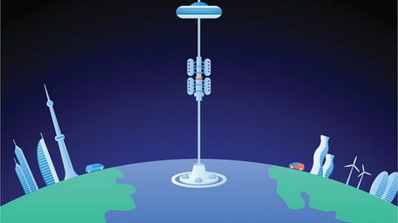 Construir un elevador de la Tierra a la Luna es posible, dicen científicos