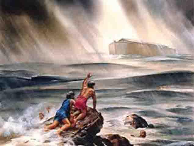 El Diluvio Universal fue para extinguir a los gigantes