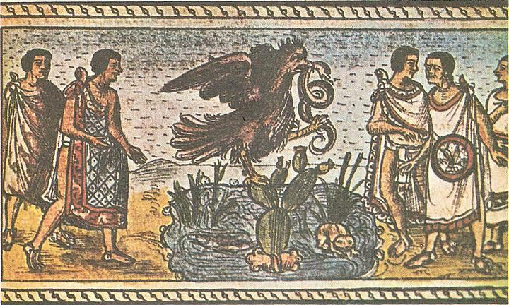 El éxodo «paralelo» del pueblo azteca