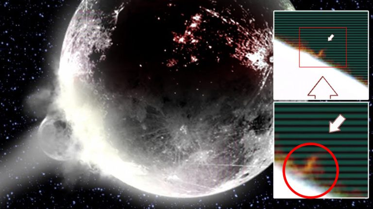 Enorme objeto se estrella contra la Luna, causa tres explosiones y es captado en vídeo –