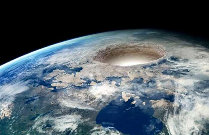 Enormes estructuras dentro de nuestro planeta podrían ocultar la Tierra Hueca
