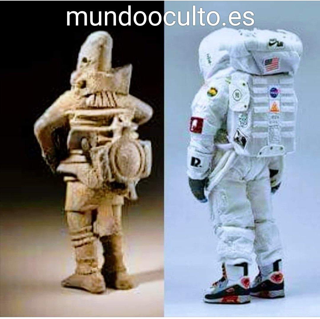 Antiguos astronautas o casualidad?