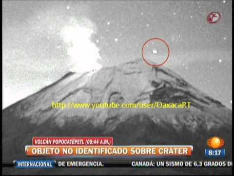 La Verdad del OVNI Que Entró al Volcán Popocatépetl