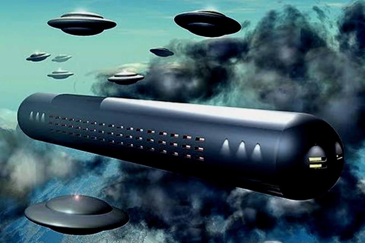 Marine de EE.UU. asegura que los ovnis en forma de cigarro son de origen extraterrestre
