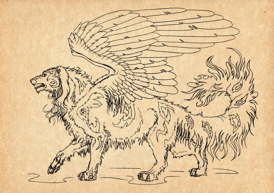 Mitología eslava: Simargl (Semargl)