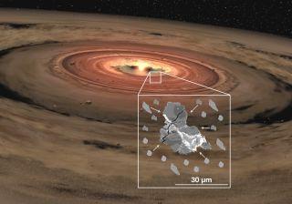 Pequeñas partículas de roca espacial podrían contener secretos para el sistema solar temprano