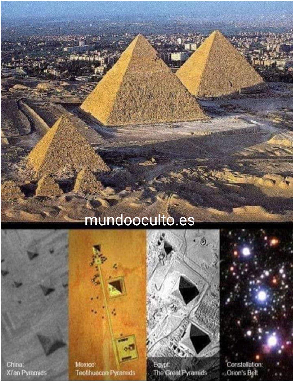 Pirámides, crees que es casualidad?