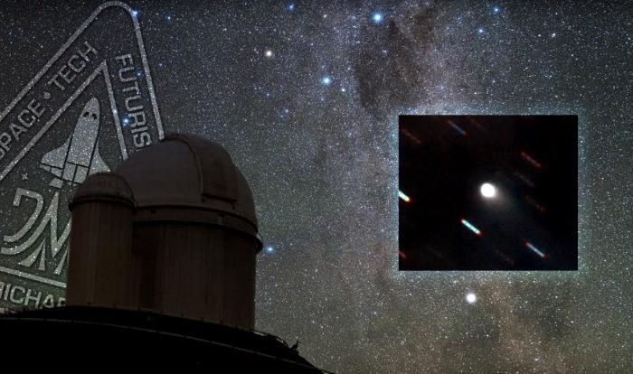 Un objeto espacial está dirigido hacia la Tierra, podría ser enviado por los extraterrestres