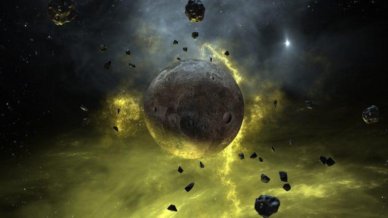 Una galaxia llena de oro y platino fue creada por la explosión de dos estrellas de neutrones