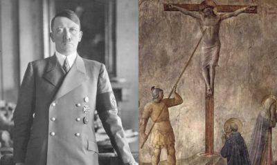 Adolf Hitler y la Lanza de Longinos