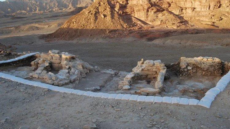 Aparecen ruinas defensivas de las minas del Rey Salomón