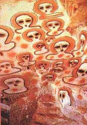 ¿ESCAFANDRAS extraterrestres o representación de AURAS? La POLÉMICA está servida…