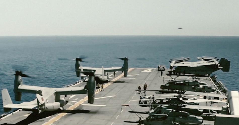 3 razones para investigar los incidentes de ovnis de la Marina de los EE. UU.