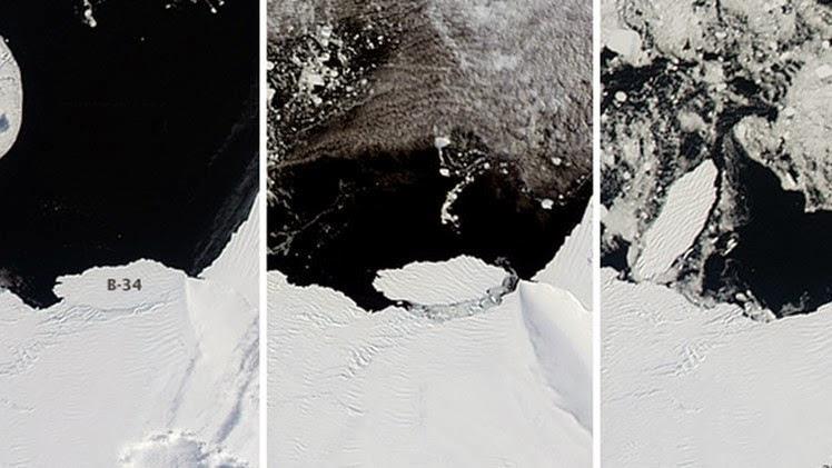 ALERTA CLIMATICA: Se Fractura la Antártida, La NASA Capta la Formación de un Nuevo Iceberg Monstruoso