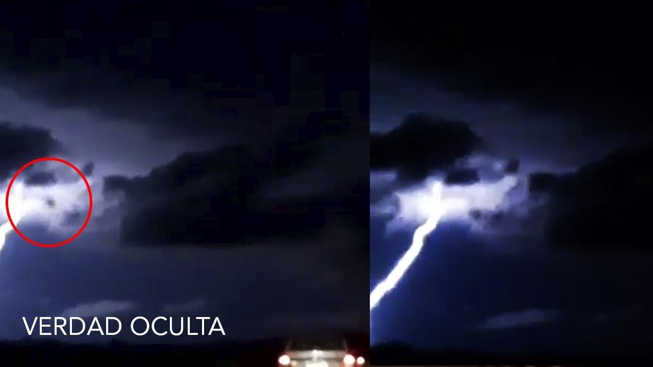 Algo GRANDE cae del cielo en plena Tormenta en Argentina