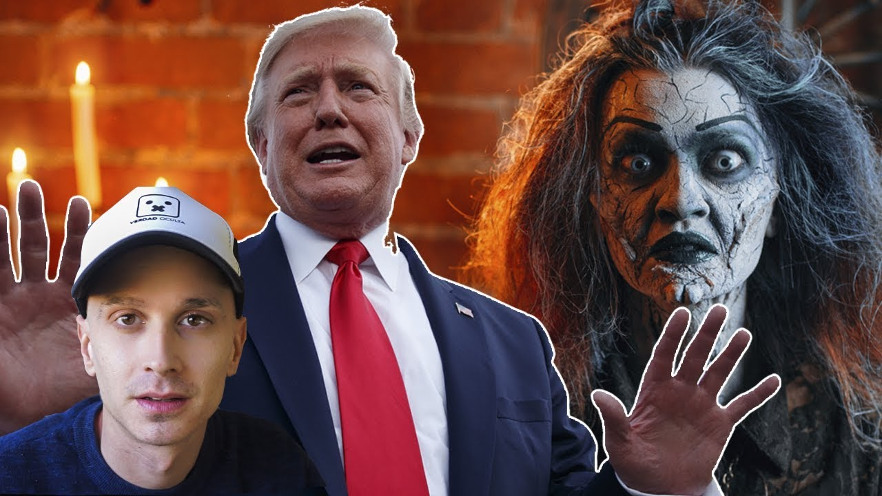 Algo MALO le han lanzado a Donald Trump en Halloween