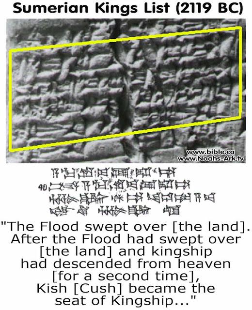 Antiguo Texto: «La Tierra fue gobernada durante 241.000 años por 8 reyes que vinieron del cielo»