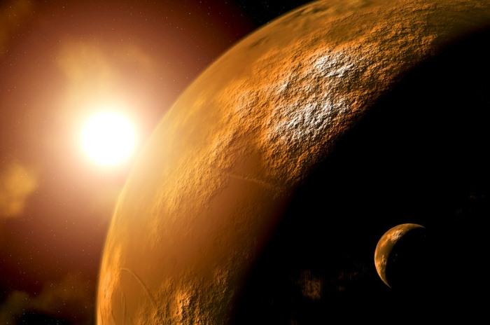 Quieren contaminar Marte con microbios para comenzar la colonización.