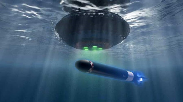El piloto de la Marina de los EE. UU. Confiesa: «Mientras se recuperaban los aviones BQM y los torpedos submarinos, vimos un OVNI (OSNI) en el fondo marino»