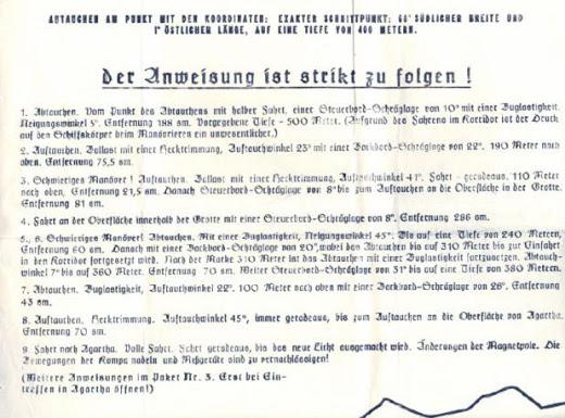 Documentos y mapas nazis demostrarían existencia de la Tierra hueca