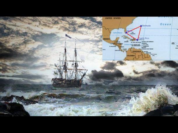 El Triángulo de las Bermudas, Mar del Diablo y El Mar de los Sargazos son portales a otro mundo?