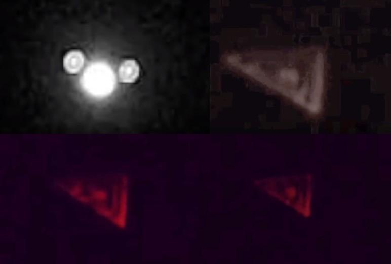 ESTADOS UNIDOS, gran «Avión Triangular» filmado en Texas