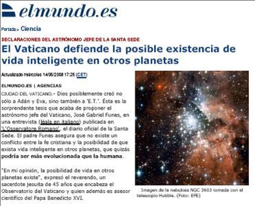 Evidencias de un engaño: Definitivamente nunca hemos estado solos en el Universo