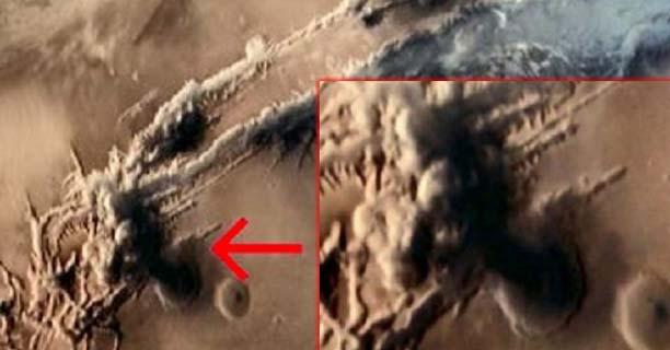 Explosiones nucleares en Marte: ¿Se libra una guerra en el planeta rojo?