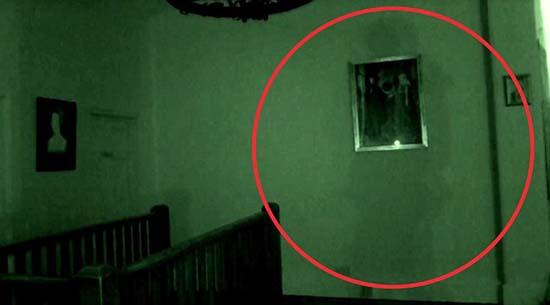 Graban por primera vez el fantasma más famoso del Reino Unido