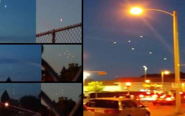 Impresionante vídeo: Avistamiento masivo OVNI en Milwaukee, EE.UU