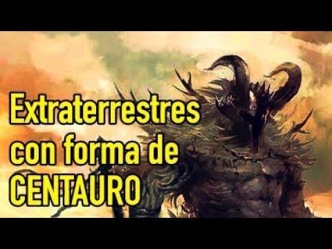 Increíbles Extraterrestres Con Forma De CENTAURO (Resubido por el audio)
