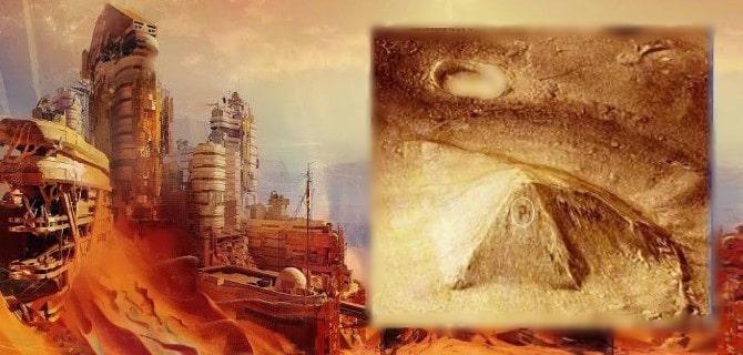¿La CIA publica documentos de pirámides y la civilización extinguida de Marte?