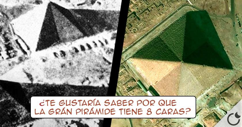 """La grán pirámide tiene ¿8 CARAS? Descubre el """"EFECTO RELÁMPAGO"""""""