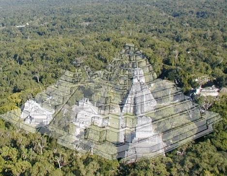 La Pirámide más grande del mundo está en México y se oculta bajo una montaña
