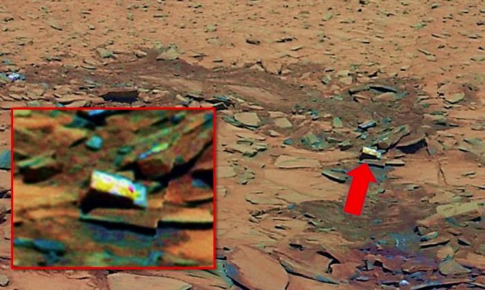 MARTE, una «caja» misteriosa es fotografiada por el Rover Spirit.¿Qué nos está ocultando la NASA?