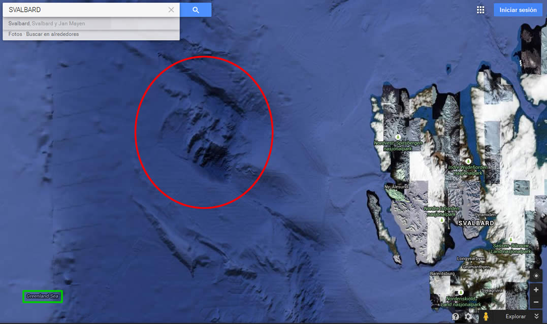 Misterios de Google Earth: Antiguas ciudades sumergidas, rastros gigantescos