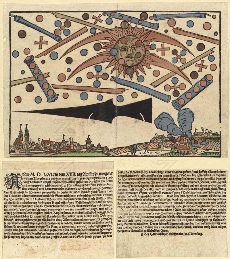 Nuremberg. Basilea. Y el OVNI del mar Báltico