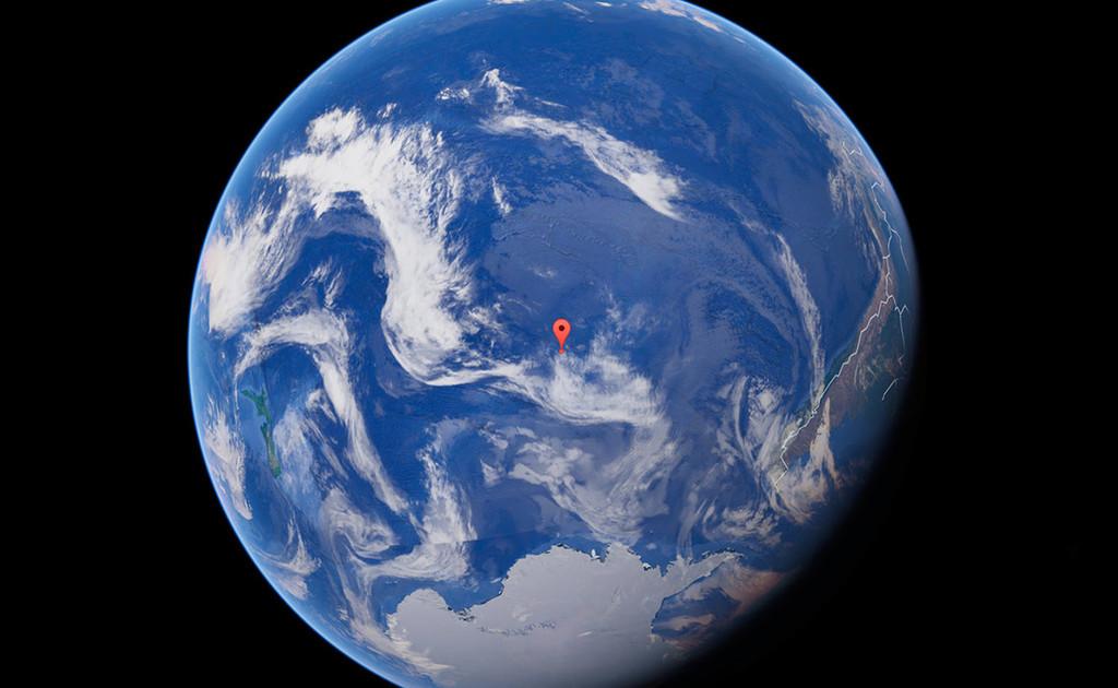 Punto Nemo: el lugar donde caen todas las naves espaciales