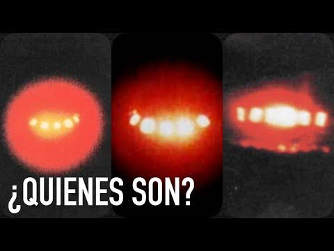 ¿Quiénes son los OVNIS rojos que nos miran?