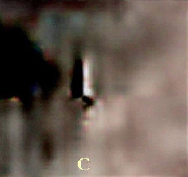Se encontraron estructuras alienígenas en el cráter Lobachevsky en el lado oscuro de la Luna.