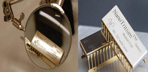 Una batería de 6 mm que dura 100 años sin recargar