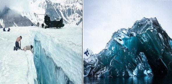 Una Civilización perdida abandonó Pirámides, ovnis y bases subterráneas en la Antártida