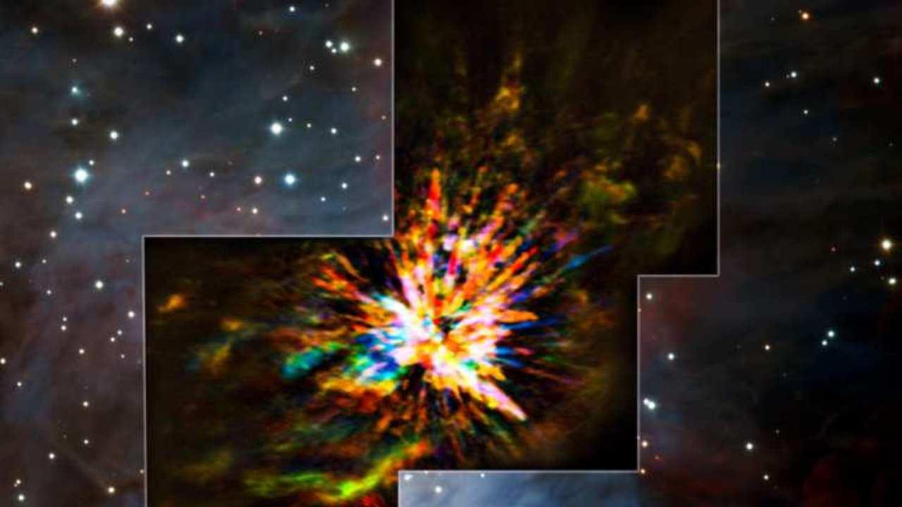Constelación de Orión podría ser el escenario de una batalla alienígena
