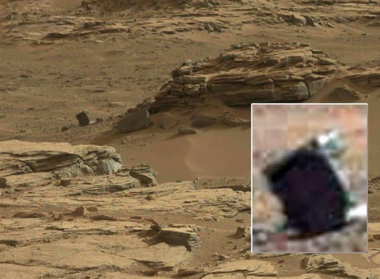 Hallan una «roca cuadrada» en Marte en fotografía de Curiosity