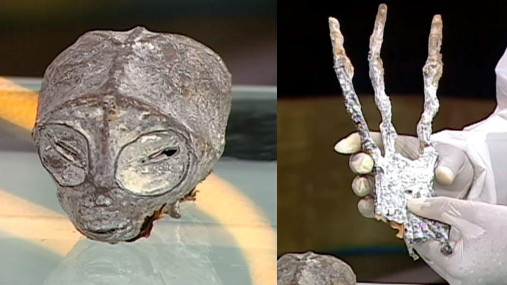 Las momias de tres dedos de Nasca están de vuelta, luego del hallazgo de un geoglifo de tres dedos