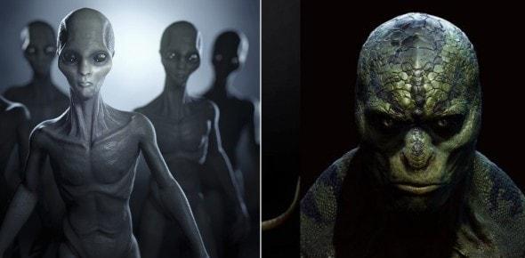 Las 4 razas extraterrestres más hostiles contra humanidad