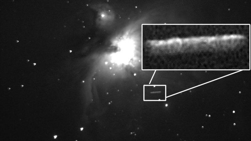 Dos enormes destellos son captados junto a la Nebulosa de Orión ¿Tecnología alienígena?