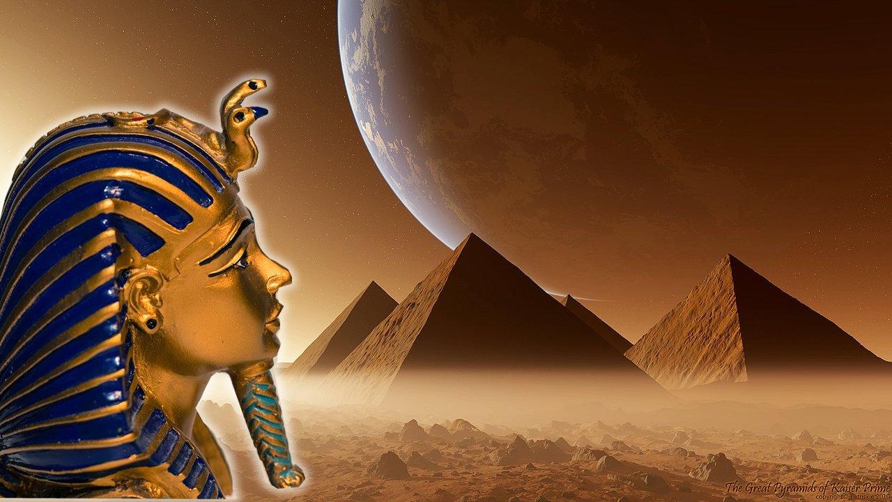 Pirámides y Humanoides Gigantes en Marte: Documento de la CIA demuestra la existencia de una antigua civilización.
