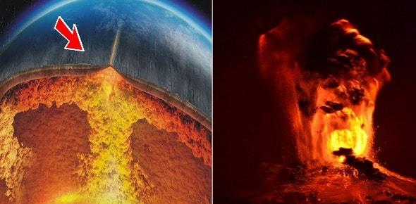 Erupción de volcanes en todo el Mundo ¿Algo está sucediendo en el núcleo de la Tierra?