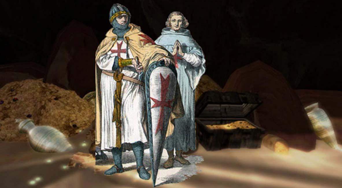 ¿Ocultaron los templarios el Arca de la Alianza en Inglaterra? Revelando las claves del mapa del tesoro de Cove-Jones